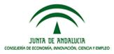 Conserjería de Economía, innovación, ciencia y empleo de la Junta de Andalucía - sponsor de NEUTRONES PARA MEDICINA