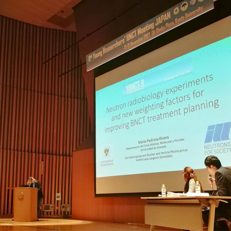 Nuestra presentación en el 9th Young Researchers' BNCT Meeting de Japón - NEUTRONES PARA MEDICINA