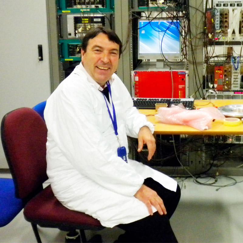 Manuel Sabariego Quintanilla - Grupo de investigación NEUTRONES PARA MEDICINA