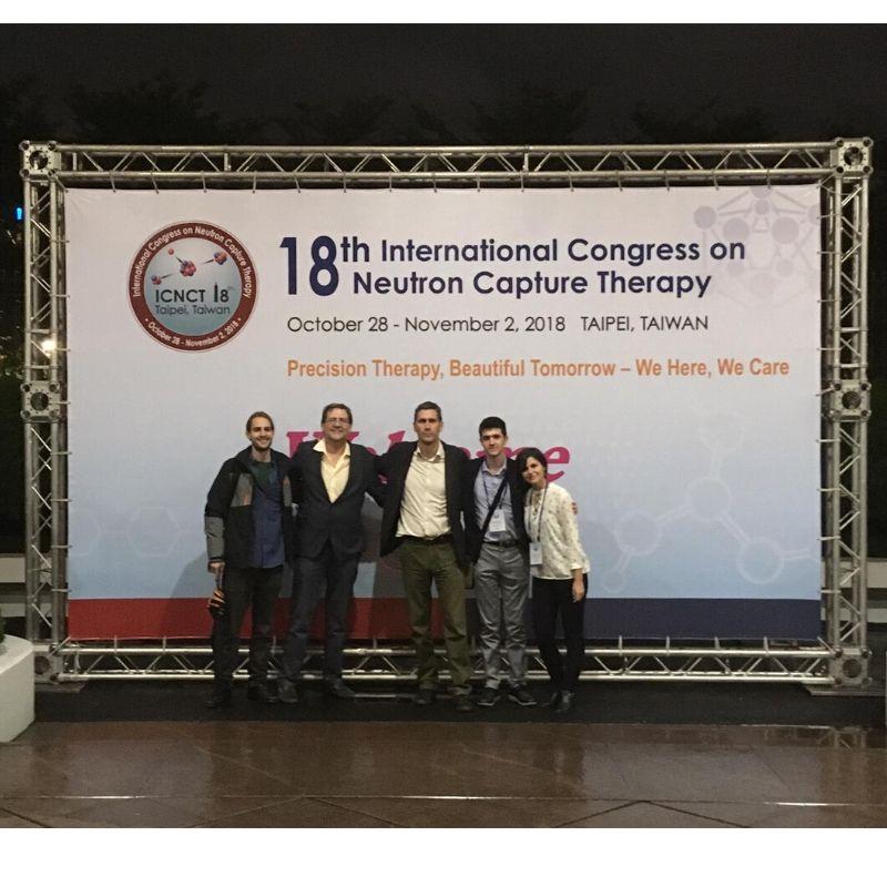 Grupo de investigación en el 18 Congreso Internacional de Terapia por Captura de Neutrones (Neutron Capture Therapy) - NEUTRONES PARA MEDICINA