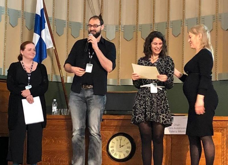 """María recibe el premio """"10th Young Researchers' BNCT Meeting"""" - NEUTRONES PARA MEDICINA"""