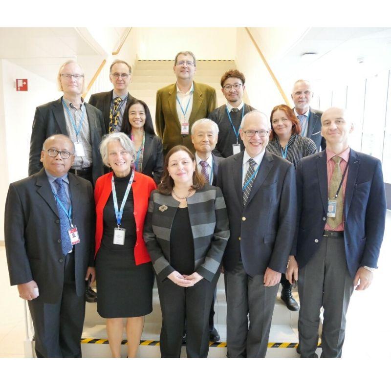 Grupo de asistentes en IAEA - NEUTRONES PARA MEDICINA